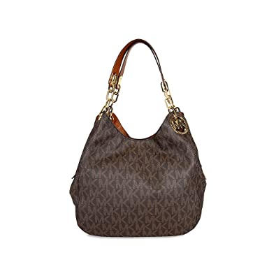 391434ca90a1 Michael Kors Fulton Large Shoulder Tote, Women's Brown, 10x28x34 cm (B x H T