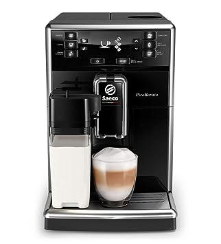 Philips Saeco PicoBaristo SM5460/10 - Cafetera Súper Automática, 11 Bebidas de Café Personalizables