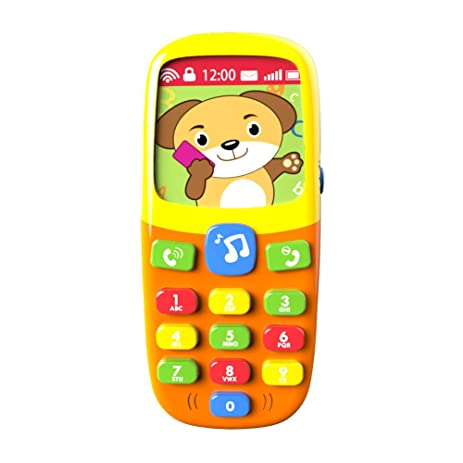 Amazon toyk 3d music mobile phone toddler toys for kids toyk 3d music mobile phone toddler toys for kids designed learning toys negle Gallery