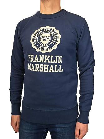 Franklin & Marshall Sudadera para Hombre girogola 3 Colores Art. 063 a Navy 44 ES