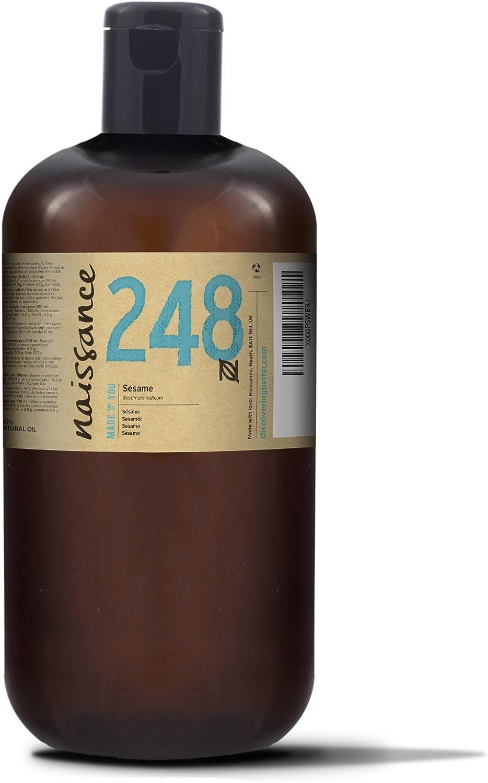 Naissance Aceite Vegetal de Sésamo 1 Litro - 100% puro, prensado en frío, vegano y no OGM …