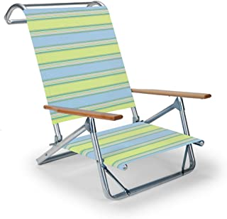 product image for Telescope Casual Original Mini-Sun Chaise Folding Beach Arm Chair, Coastal