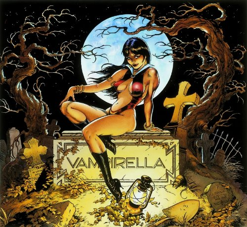 Vampirella By Dave Stevens Poster 17 X 24 Rolled