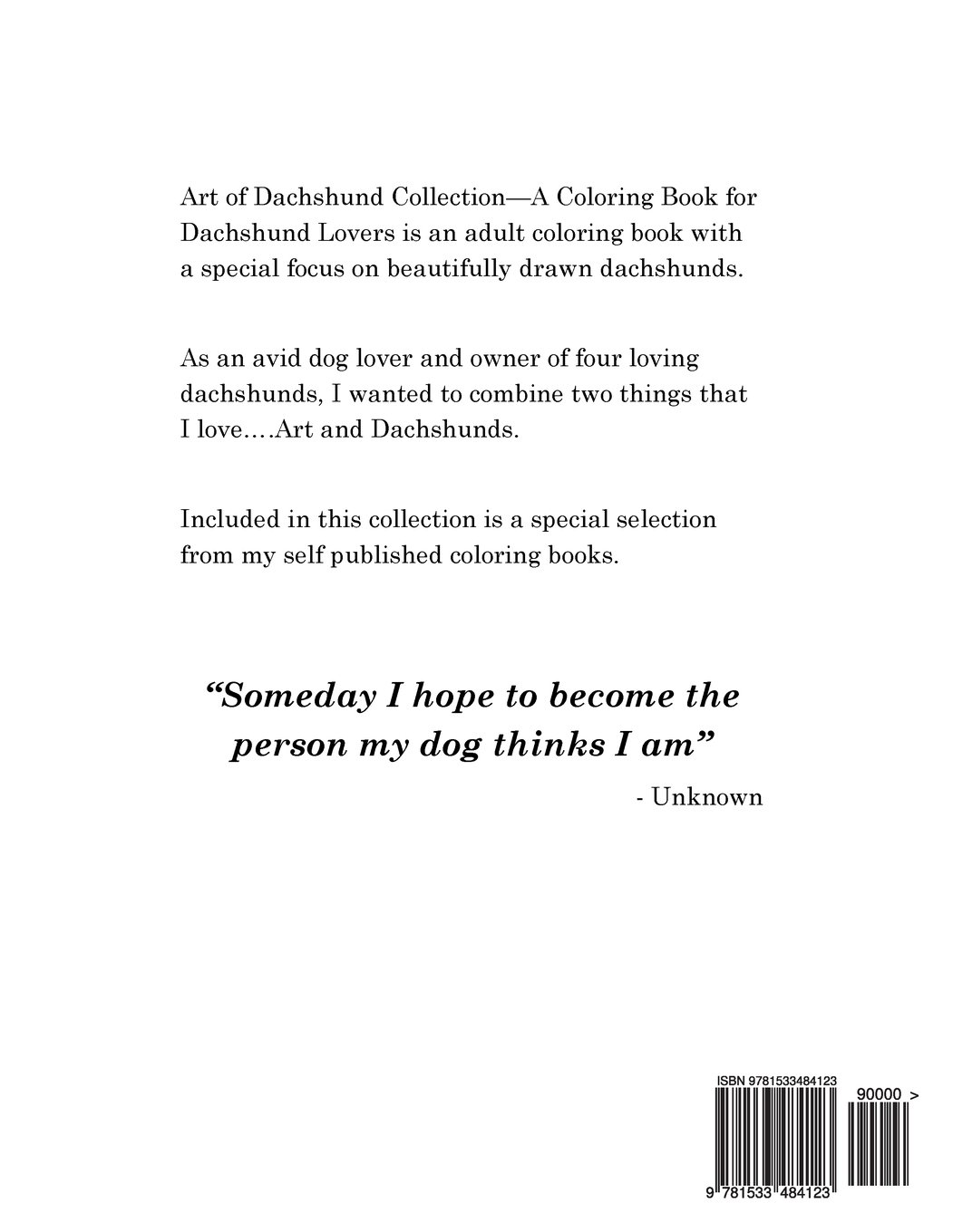 amazon com art of dachshund coloring book coloring book for dog