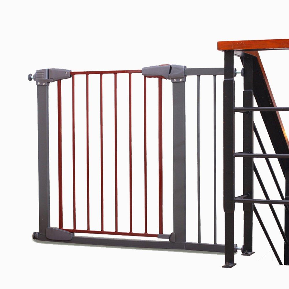 激安正規  余分なワイドベビーゲートの階段のバリアのペットの犬のフェンスの隔離ドア子供の安全なバナスター壁の圧力は (サイズ、赤+灰色 B07FG1HW33、77~173cmワイドマウント (サイズ さいず 117-123cm : 117-123cm) 117-123cm B07FG1HW33, ランドリープラス:18f990b9 --- a0267596.xsph.ru