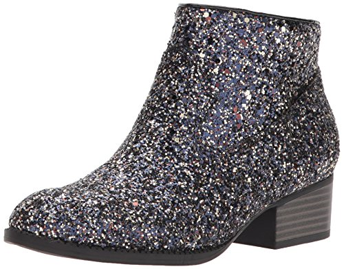 Price comparison product image Dolce Vita Girls' Jaclyn Ankle Boot, Black Multi Glitter, 3 Medium US Little Kid