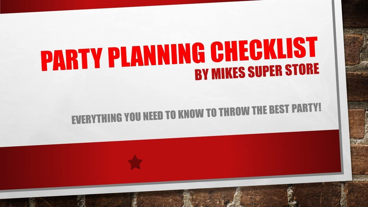 Plus Party Planning Checklist by Mikes Super Store Plastic Loot Treat Candy Favor Bags Big Dig Construction Zone Equipment Backhoe Birthday Party 16 Pack