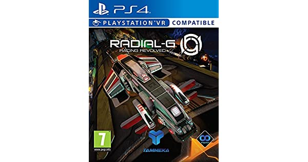 Amazon.com: Radial-G: Racing Revolved (PSVR/PS4) (UK IMPORT): Video Games