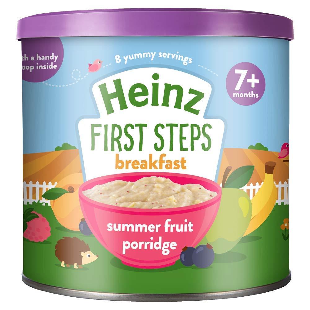 Heinz Summer Fruit Multigrain Cereal, 7+ months, 240 g