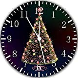 """Best IkEA clock - Christmas Tree Wall Clock 10"""" Will Be Nice Review"""