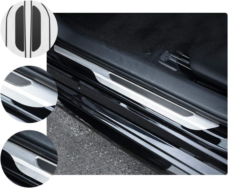 RUIYA Corolla E210 Edelstahl Einstiegsleisten AbdeckungAus Aus Edelstahl kratzfest Autot/ürschutz【4 St/ück 】