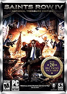 Saints Row IV: National Treasure Edition (B00LYYNZ7G) | Amazon price tracker / tracking, Amazon price history charts, Amazon price watches, Amazon price drop alerts