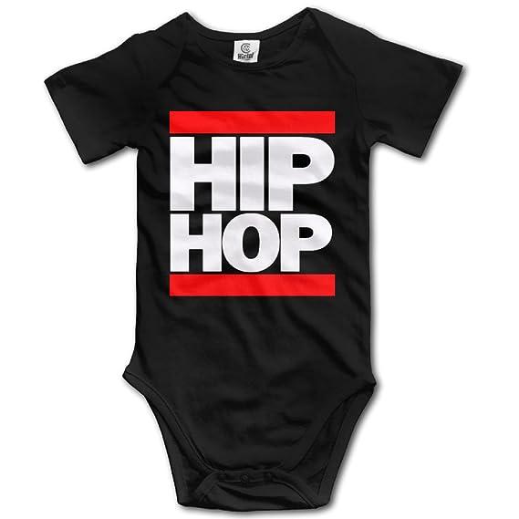 Amazon.com: HIP HOP recién nacido bebé ropa playera Playsuit ...