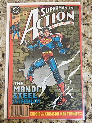 ACTION COMICS #659, VF+, Superman, DC, 1938, more in store