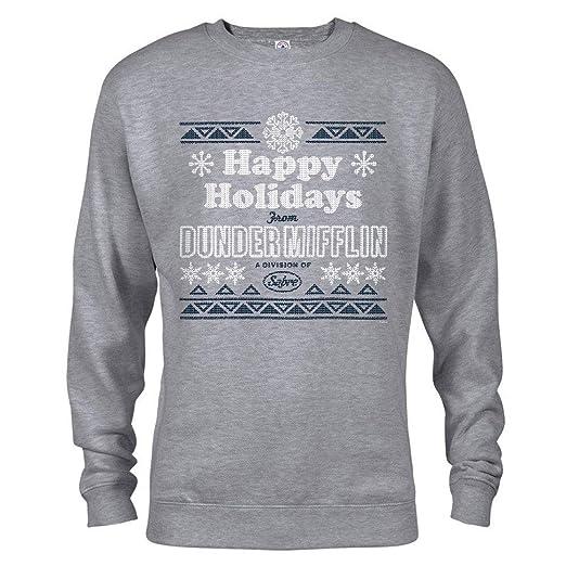Amazoncom Nbc The Office Dunder Mifflin Happy Holidays Ugly
