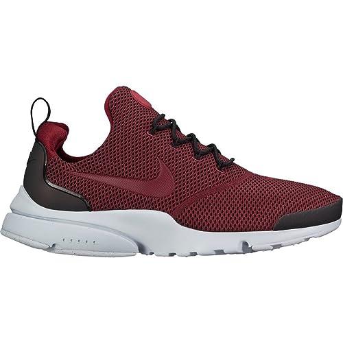 Zapatillas Nike - Presto Fly Se Granate/Negro/Gris Talla: 40,5: Amazon.es: Zapatos y complementos