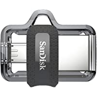 SanDisk 16GB Ultra Dual Drive USB 3.0 Bellek, Android ve PC uyumlu - SDDD3-016G-G46