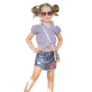 Amazon.com: Juego de ropa para niños de 1 a 5 años, diseño ...