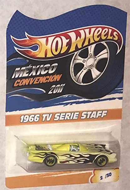 Amazon Com Hot Wheels Batmobile 1966 Tv Series 2011 Mexico