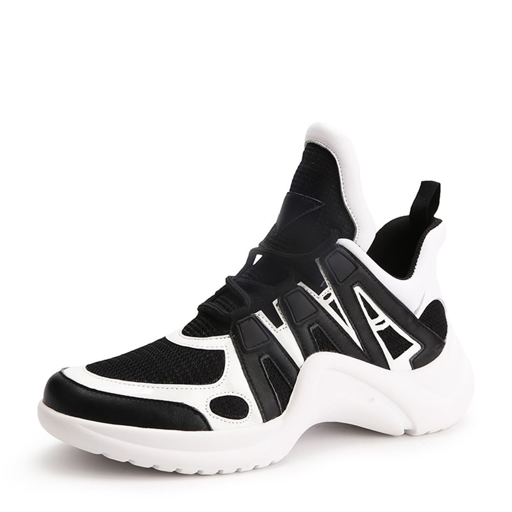 Zapatillas de Deporte de Las Mujeres Zapatos Casuales 2018 Primavera, Verano, Otoño Zapatos Deportivos de Malla Gruesa Zapatos Deportivos (Color : 2#, Tamaño : 38) 38|2#