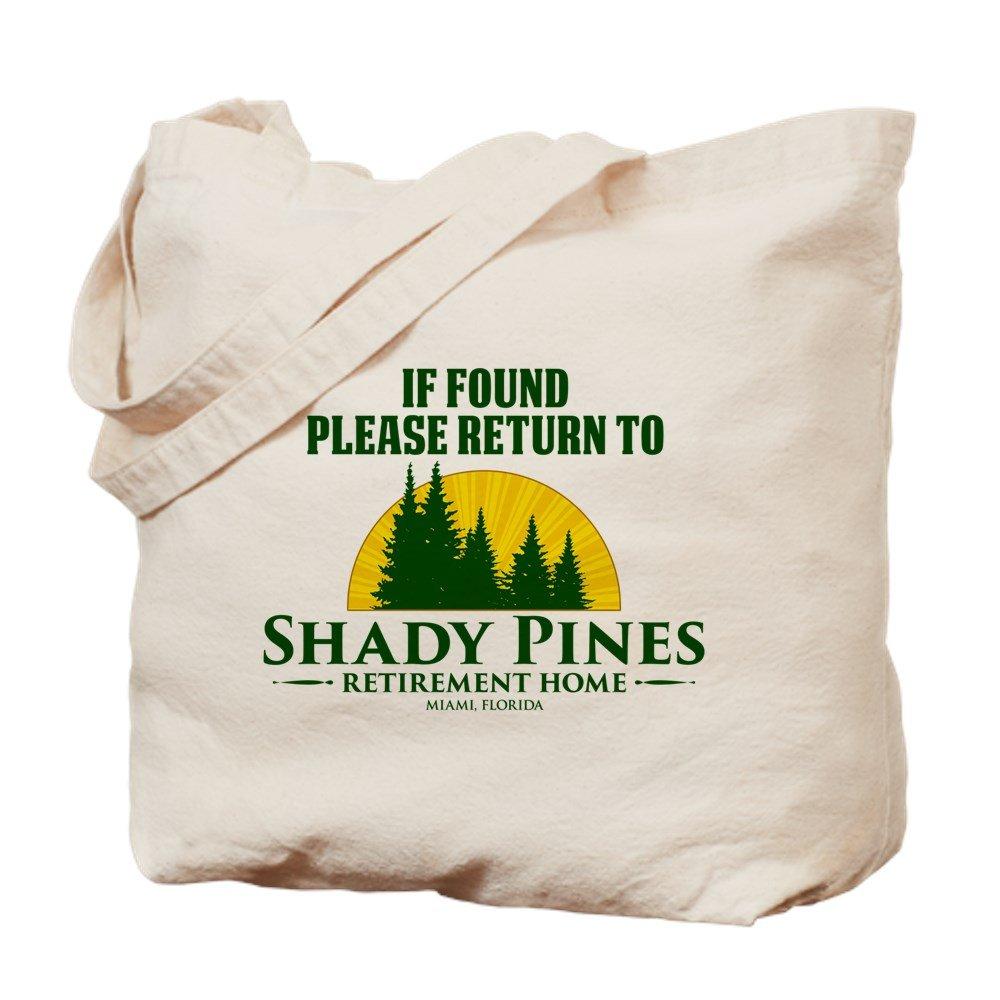 CafePress – Return to Shady Pines – ナチュラルキャンバストートバッグ、布ショッピングバッグ M ベージュ 19203693856893C B073QVRNY1 MM