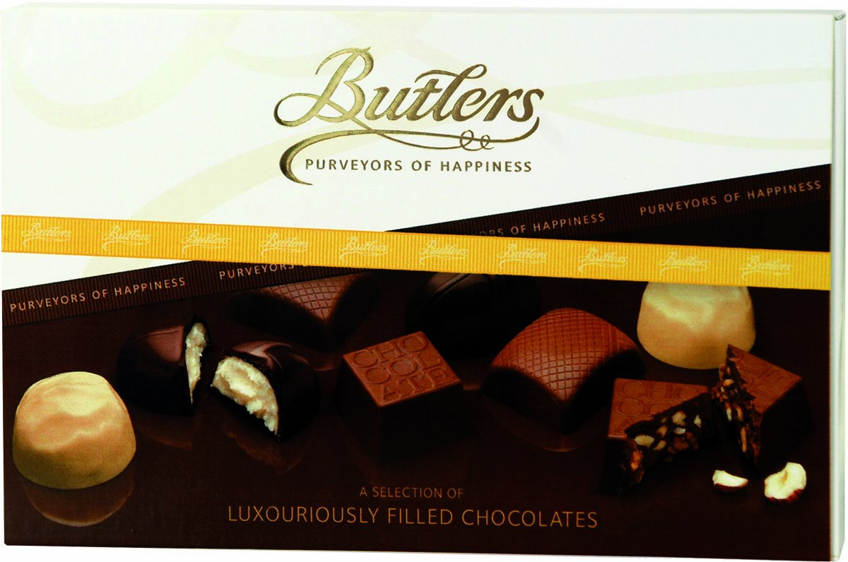 Amazon.com : Butlers Chocolates Gift box, Luxury Filled : Gourmet ...