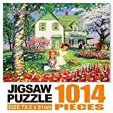Anne of Green Gables JIgsaw Puzzle 1014P Flower Picnic