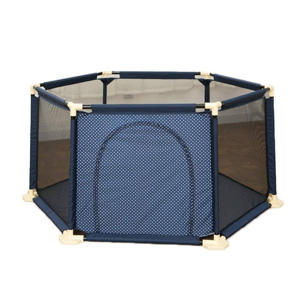 人気定番 セーフティフェンスの内側をクロールするための六角形フェンス (色 : B07KGNWZ46 青) : (色 青 B07KGNWZ46, どらやき専門店の菓匠華美月:e2b7700d --- a0267596.xsph.ru