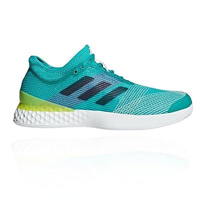 best website a0ef3 58b7c adidas Mens Adizero Ubersonic 3 M Tennis Shoes, White (Blanco 000), 6.5