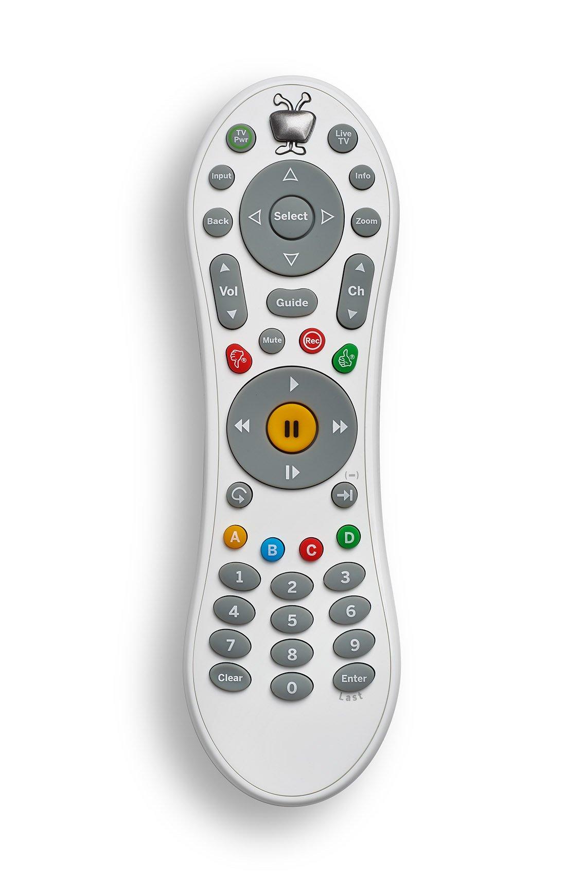 TiVo Bolt Remote Control, White (COO286) by TiVo