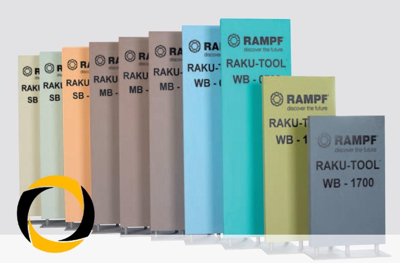 Wb-1210 1000mm X 500mm Ascending Composites Ureol Raku-Tool® Formenbaukunststoff WB-1210 1000mm x 500mm