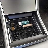 GOFORJUMP Caisse de r/écipient de Palette de bo/îte de Stockage de Gant dABS daccoudoir Central Noir pour P//eugeot 3008 2011-2015 Accessoires automatiques