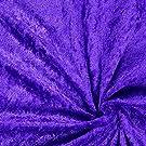 Fabulous Fabrics Pannesamt lila – Weicher SAMT Stoff zum Nähen von Kleider, Oberteile, Tücher und Tischdecke - Pannesamt Dekostoff & Bekleidungsstof- Meterware ab 0,5m