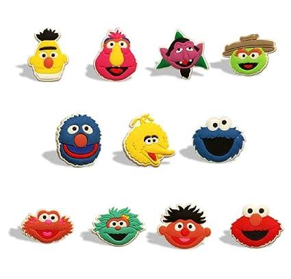 Sesame Street Characters Set Of 11 Fridge Magnets