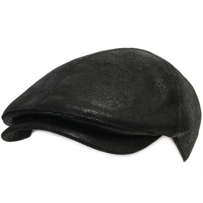 e9a3463c3d606 ililily New Men¡¯s Flat Cap Vintage Cabbie Hat Gatsby Ivy Caps Irish  Hunting Hats Newsboy with Stretch fit - 001-2  Amazon.co.uk  Clothing
