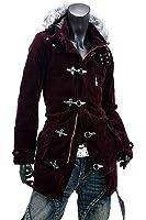 ベロアファイヤーマン コート メンズ ファーコート ベルベット セミロング丈 EX-O137006