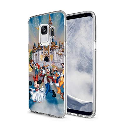 Amazoncom Disney Collection Clear Crystal Samsung Galaxy