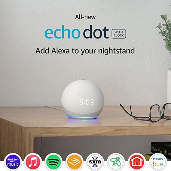 Echo Dot | Smart speaker with clock and Alexa