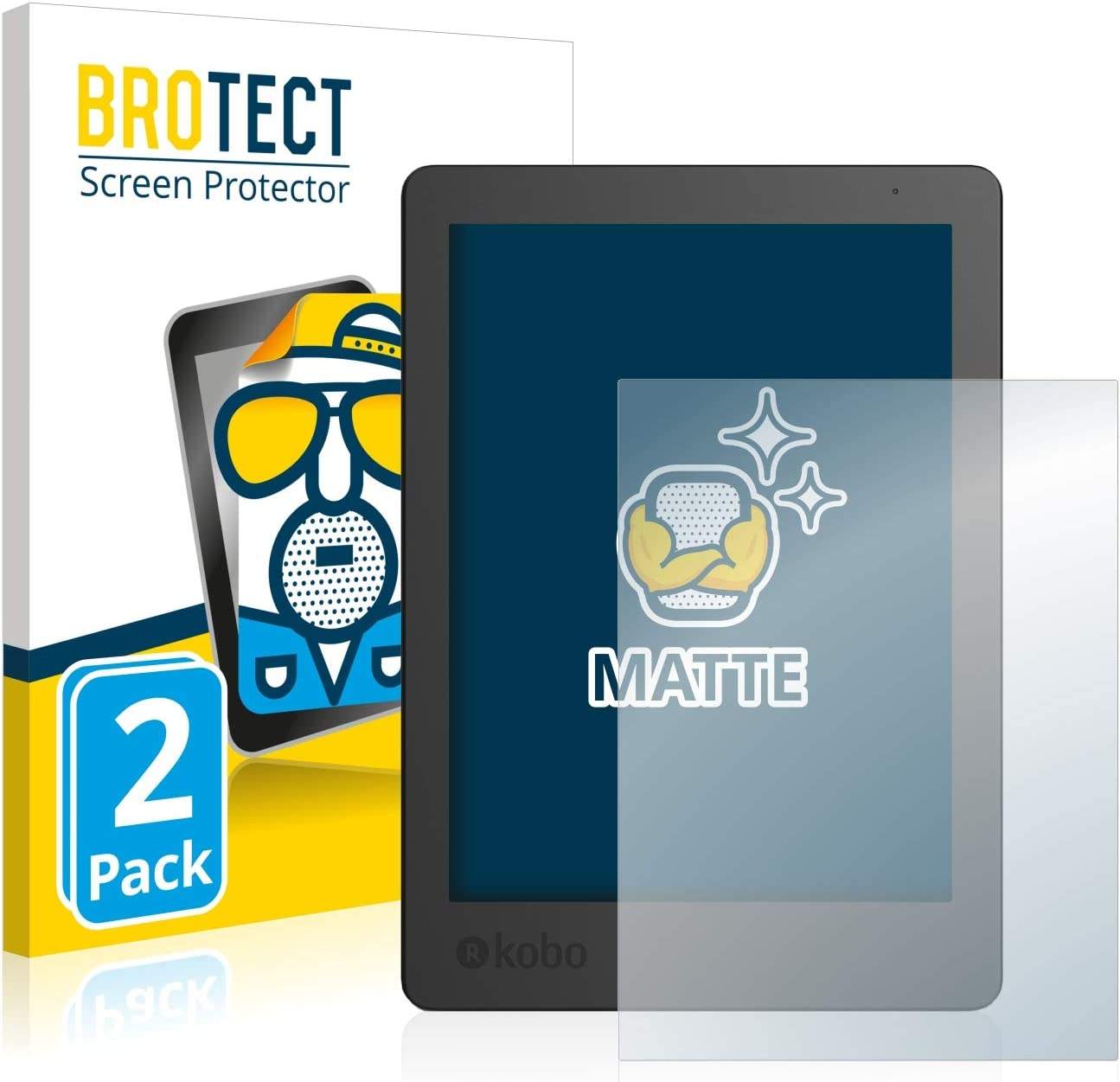 BROTECT Protector Pantalla Anti-Reflejos Compatible con Kobo Aura ...