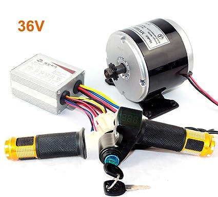 L-faster 24 V 36 V 350 W DC Eléctrico Motor de Monopatín Eléctrico DIY 350 W Motor Kit Motor eléctrico de la Bici Motor Uso 25 H Cadenas