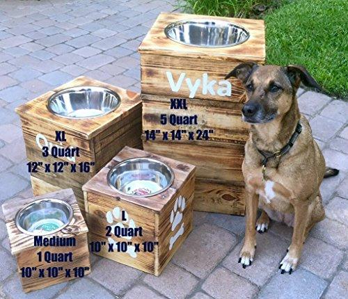 Single-Large-Elevated-Dog-Dish-Large-Feeding-Stand-Dog-Dish-Elevated-Dog-Bowl