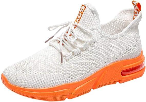 Uomini Moda Casual Lace Up Leggero Traspirante Sport Running Scarpe Sneakers