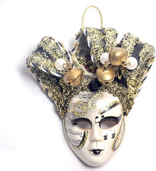 TOPFAY Una Mini máscara Imán Conectado A Un pequeño triángulo de ...