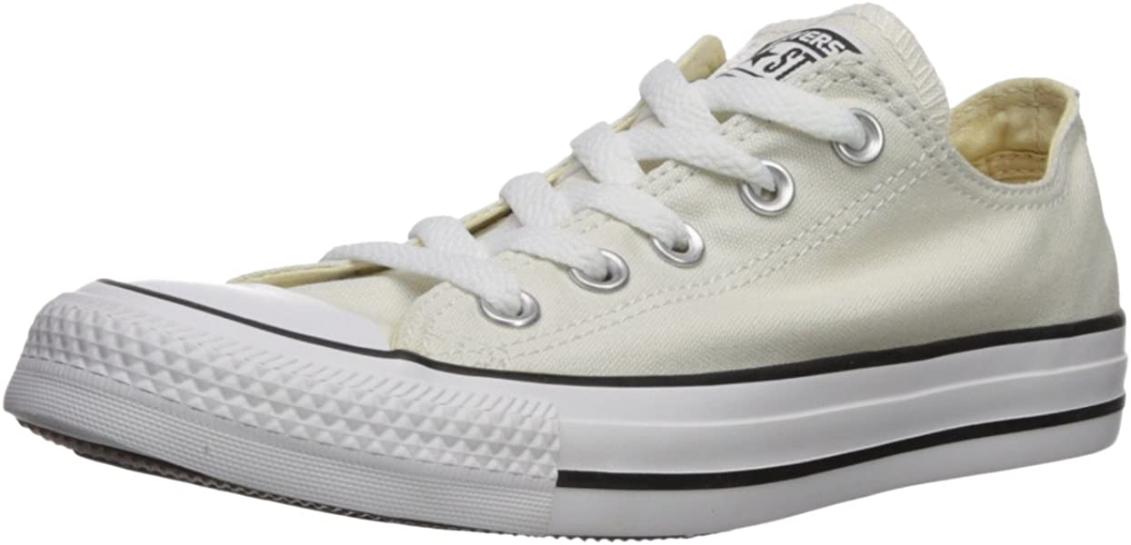 Converse Unisex Chuck Taylor All Star Ox Low Top Classic Buff Sneakers -  4.5 D( bc81e3023