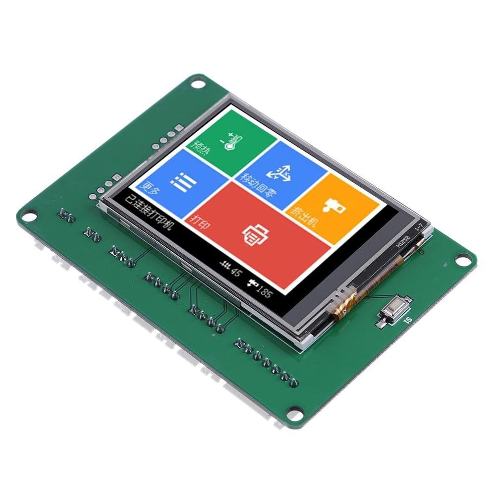 Easydeal - Mini pantalla LCD de 2,4 pulgadas 262K color resistivo ...