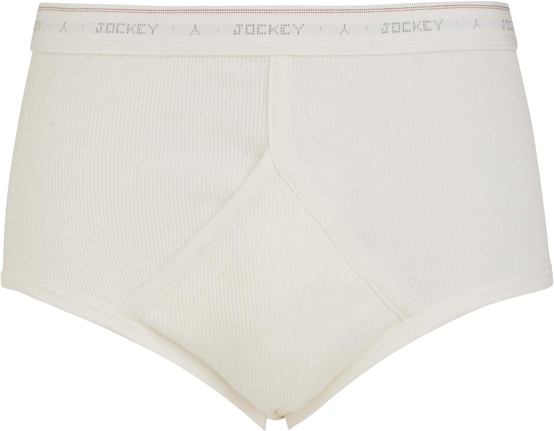 Jockey Mens Cotton Classic Y-Front Design Briefs Underwear