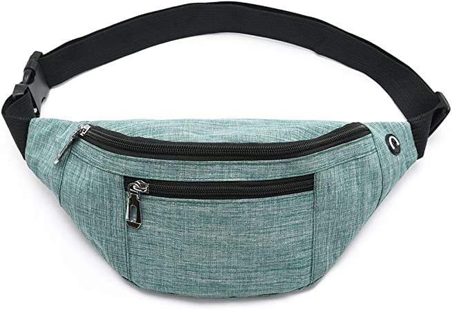 KBBK Sports Fanny Pack Fashion Travel Outdoor