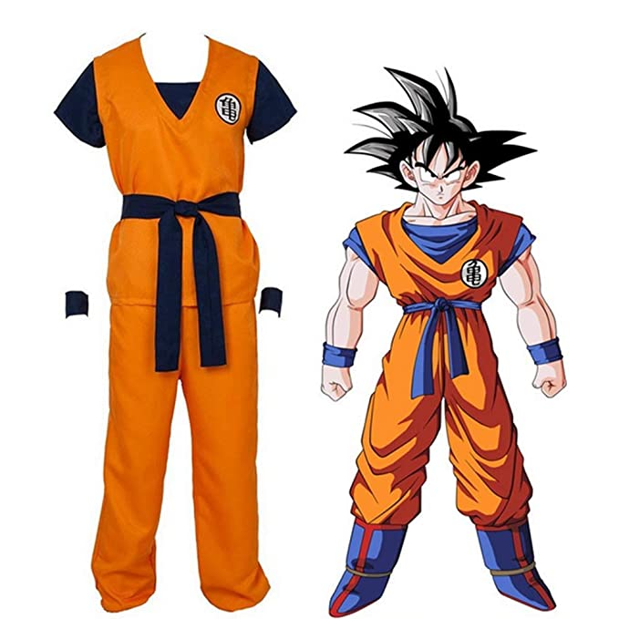 GGOODD Anime Dragon Ball Son Goku Cosplay Costume Halloween ...