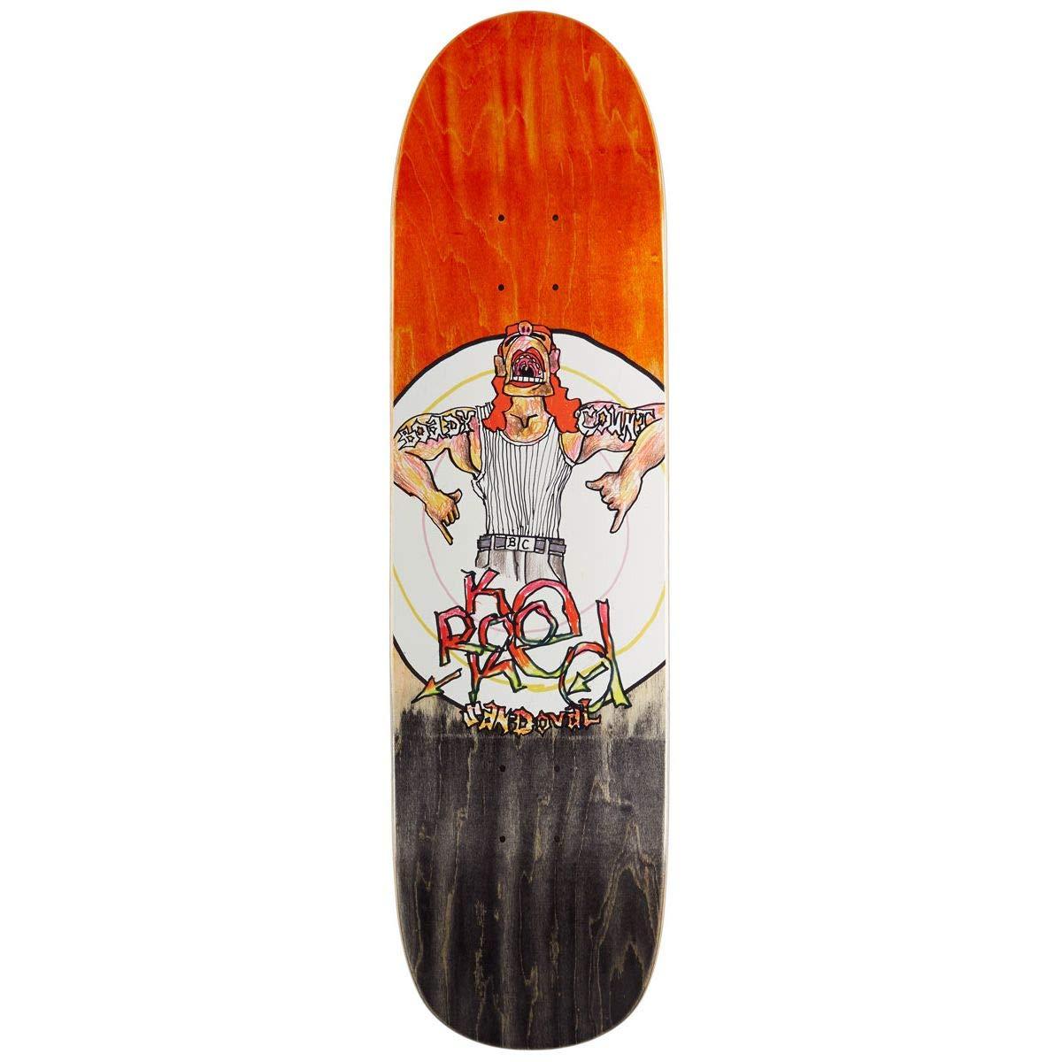 【お買得!】 KROOKED (クルキッド) SANDOVAL SANDOVAL BOADY デッキ COUNT Skateboard Skateboard Deck 8.25in x 32in スケートボード デッキ B07PVHF88K, ミイケグン:8d76519d --- kickit.co.ke