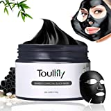 Blackhead Peel Off Mask,Charcoal Peel Off Mask,Blackhead Remover Mask,Facial Masks,Purifying Peel-off Mask Black Mud Pore Removal Strip Mask For Face Nose Acne Treatment Oil Control
